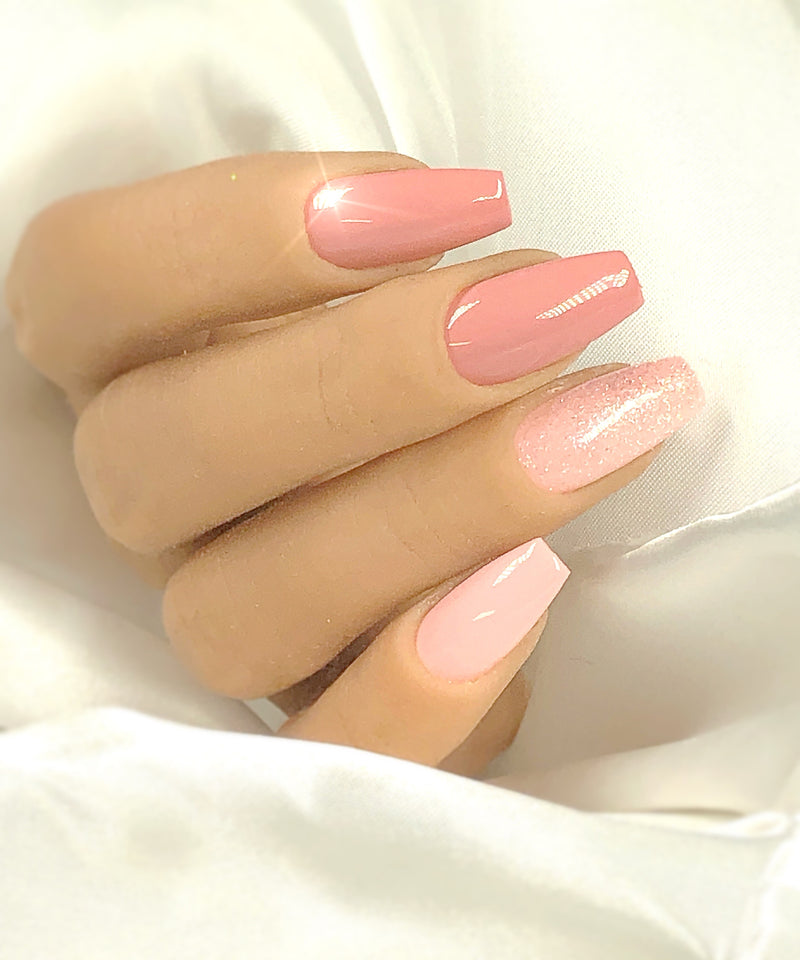 Gel Polish Pale Old Rose