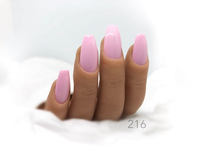 Gel Polish Manicure Pink