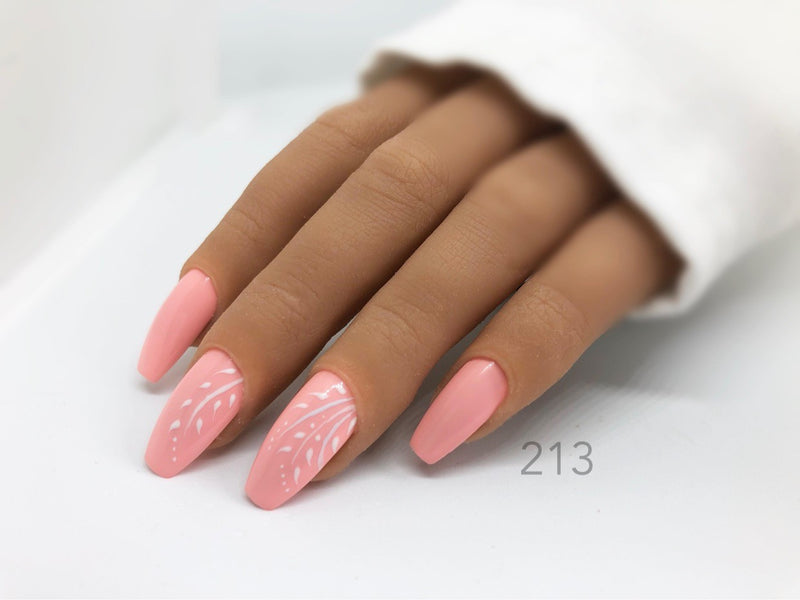 Gel Polish Salmon Pink