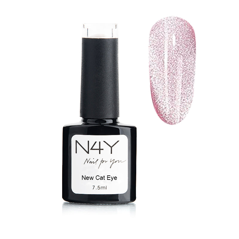Gel Polish Cat Eye Light Pink