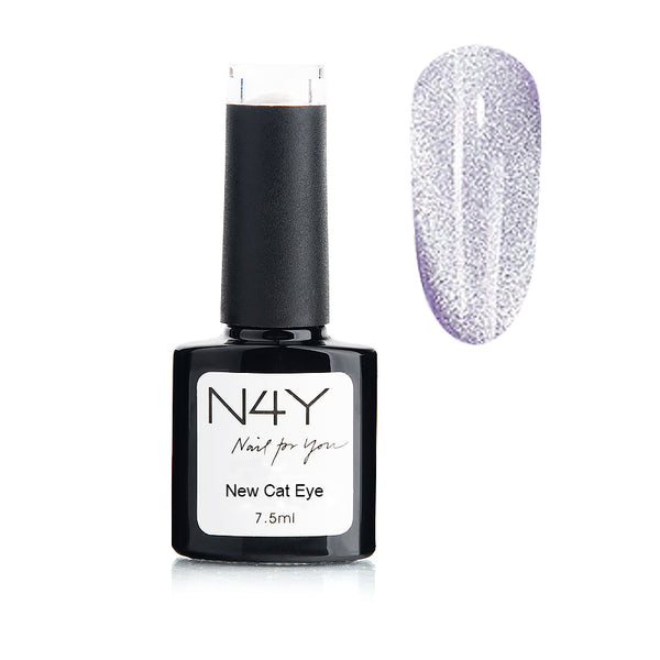 Gel Polish Cat Eye Purple