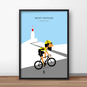 Personalised Cycling Prints
