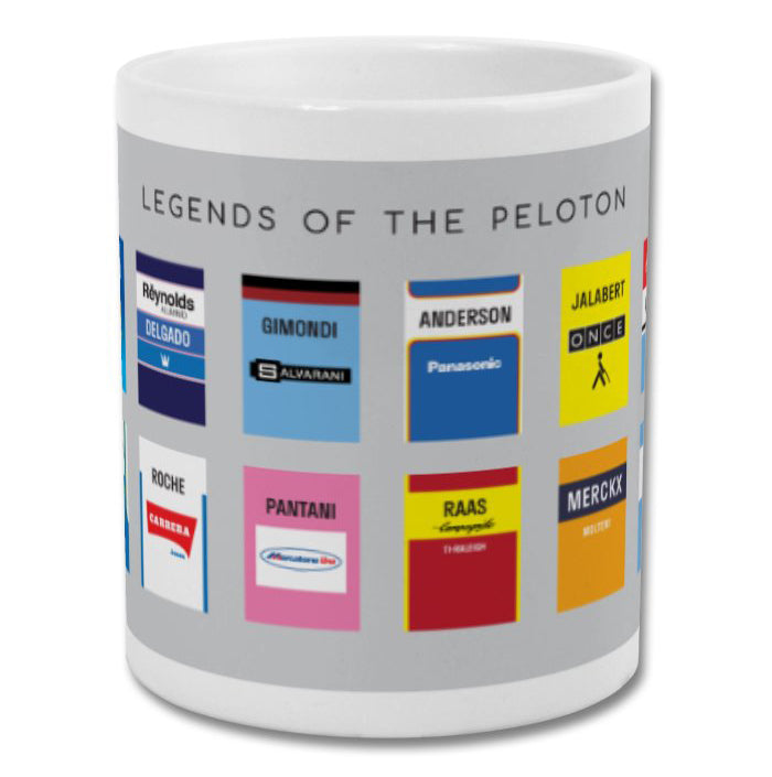 Legends Of The Peloton - Mug