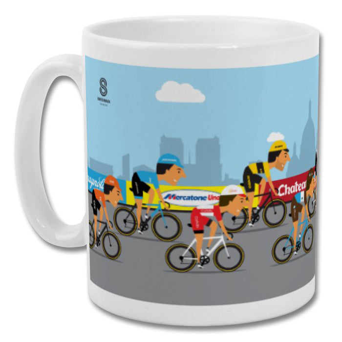 The Race to Paris Mug