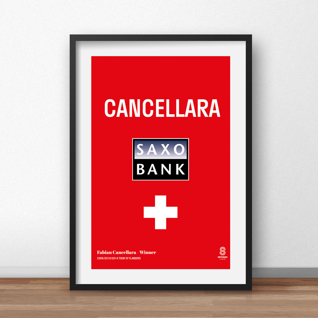 Fabian Cancellara Swiss Champion - Print