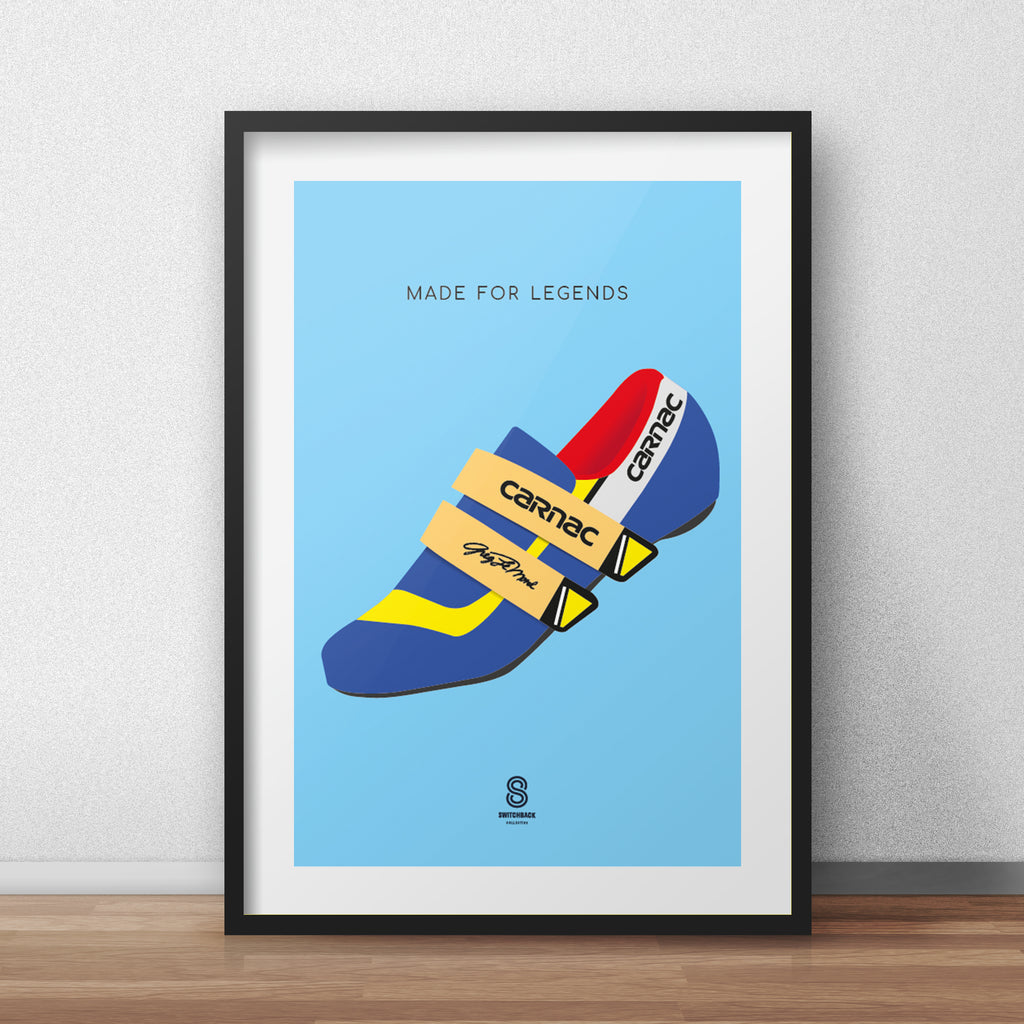 Greg LeMond Carnac Shoes - Made For Legends Print
