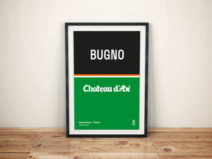 Gianni Bugno - Vintage cycling team print
