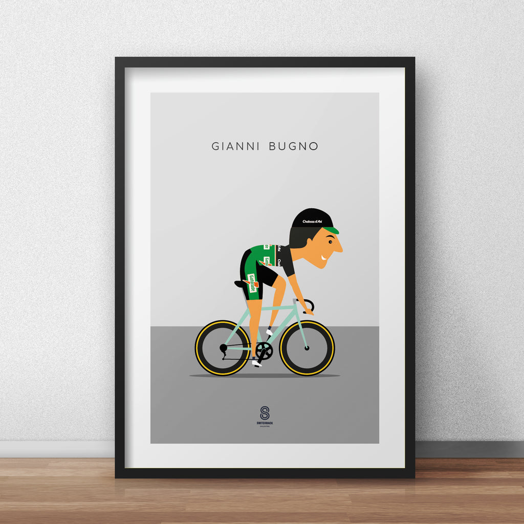 Gianni Bugno- Gatorade Chateau d´Ax Cycling Print