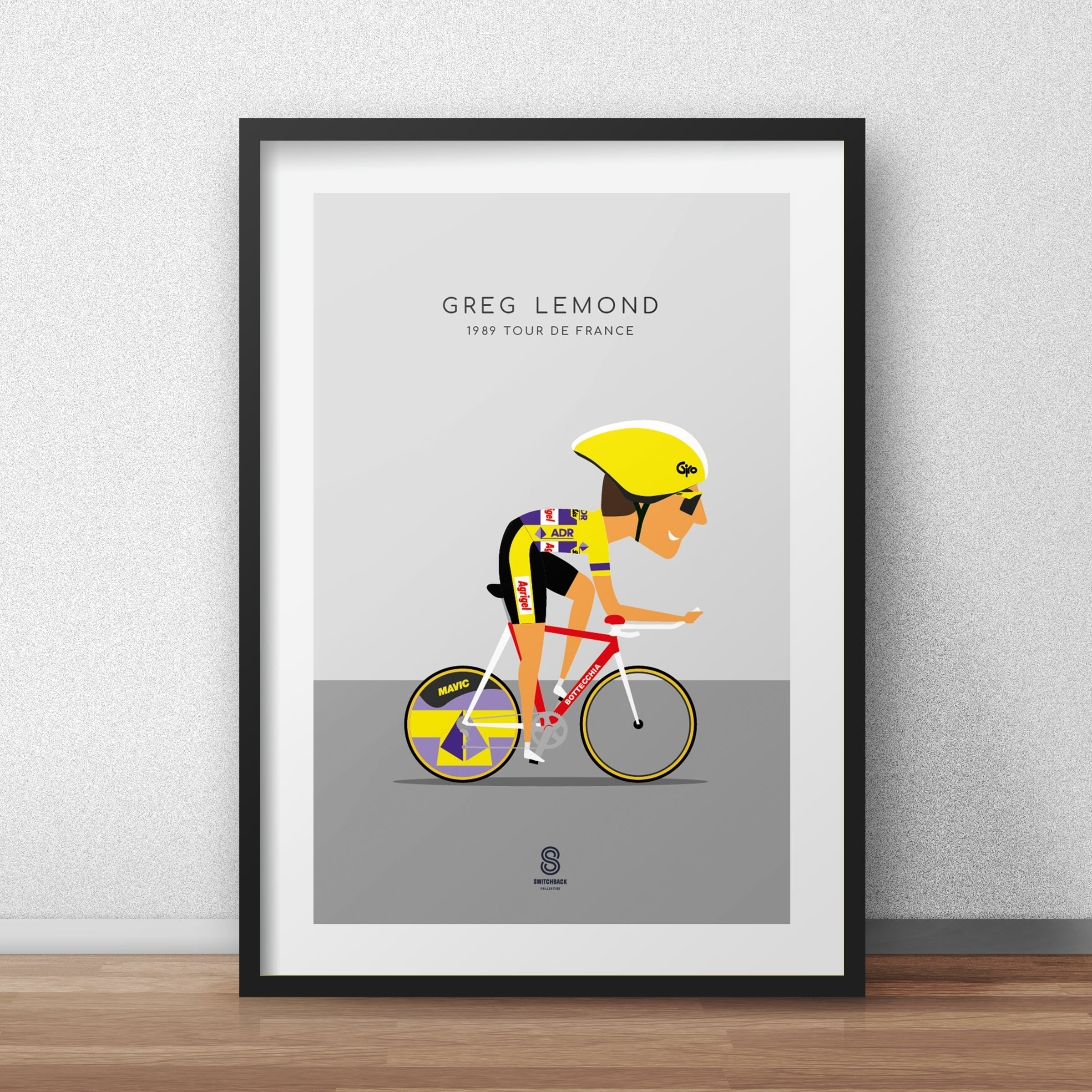 Greg Lemond ADR - 1989 Tour De France Print