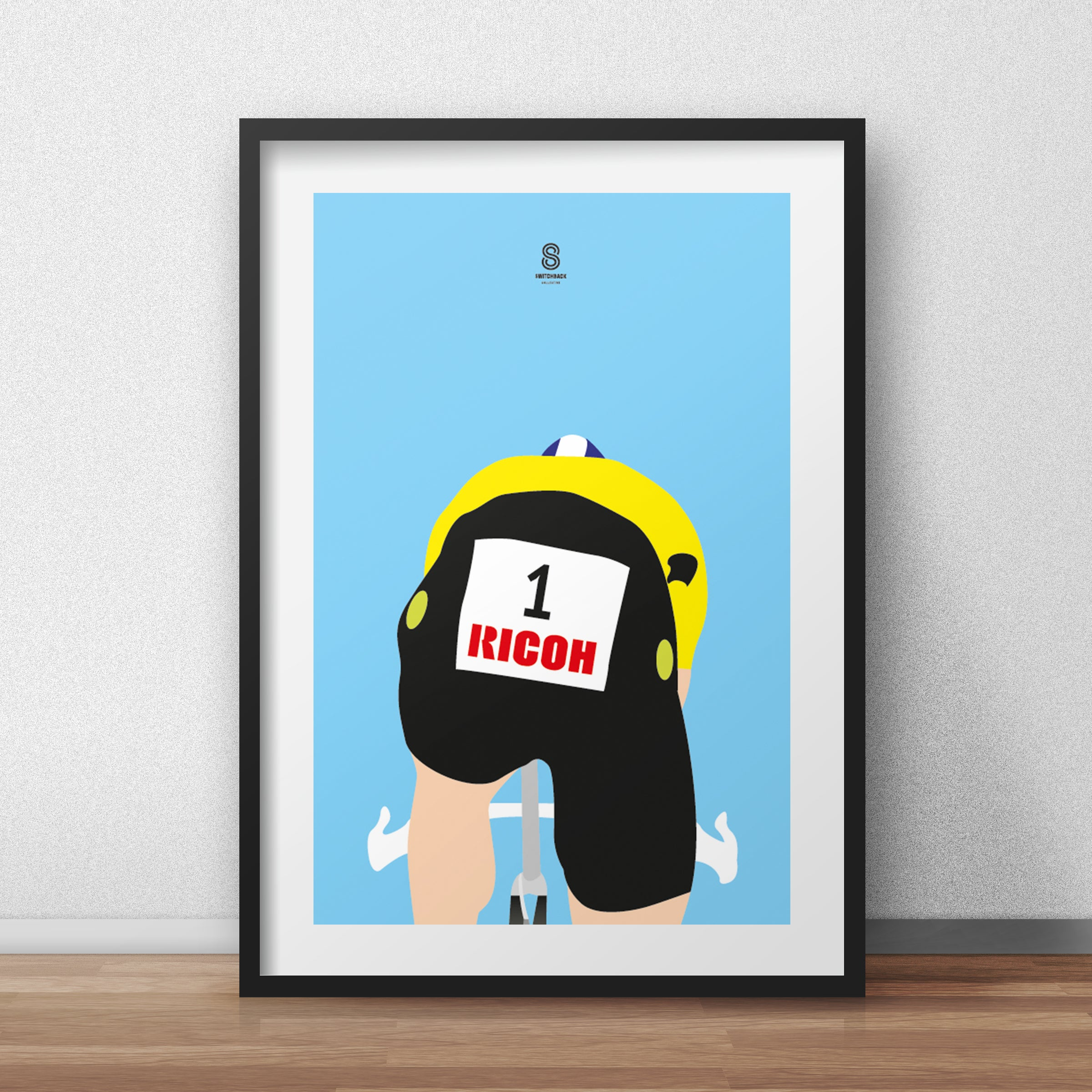 Greg Lemond 1990 Prologue TT - Cycling Print