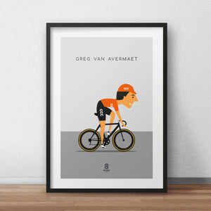 Greg Van Avermaet - Team CCC print