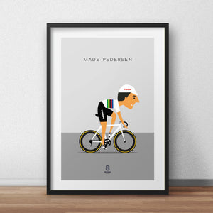 Mads Pedersen - World Champion Print