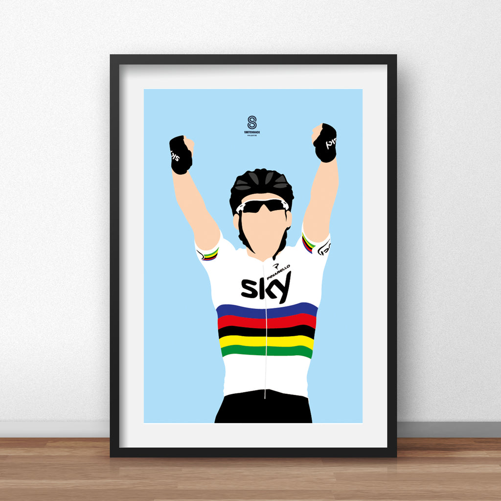 Mark Cavendish - World Championship Print
