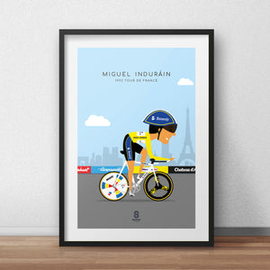 Miguel Indurain TT 1992 - Legends of Le Tour De France