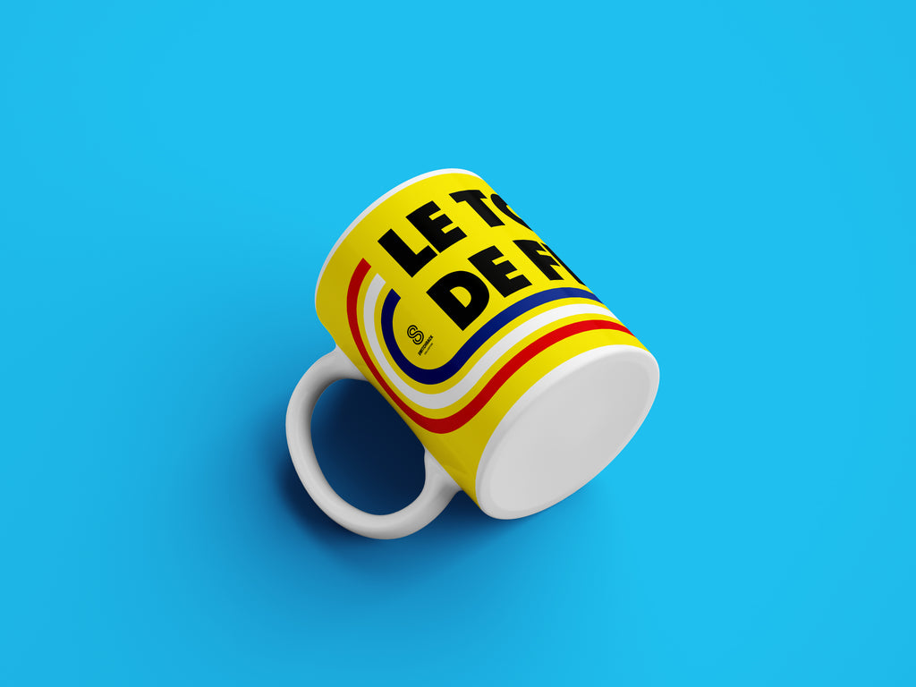 Le Tour De France Cycling Mug