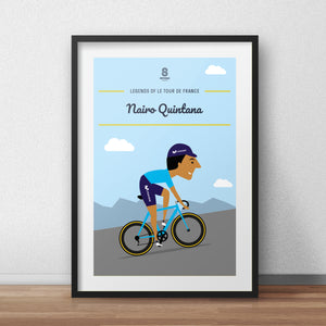Nairo Quintana - Legends of Le Tour De France