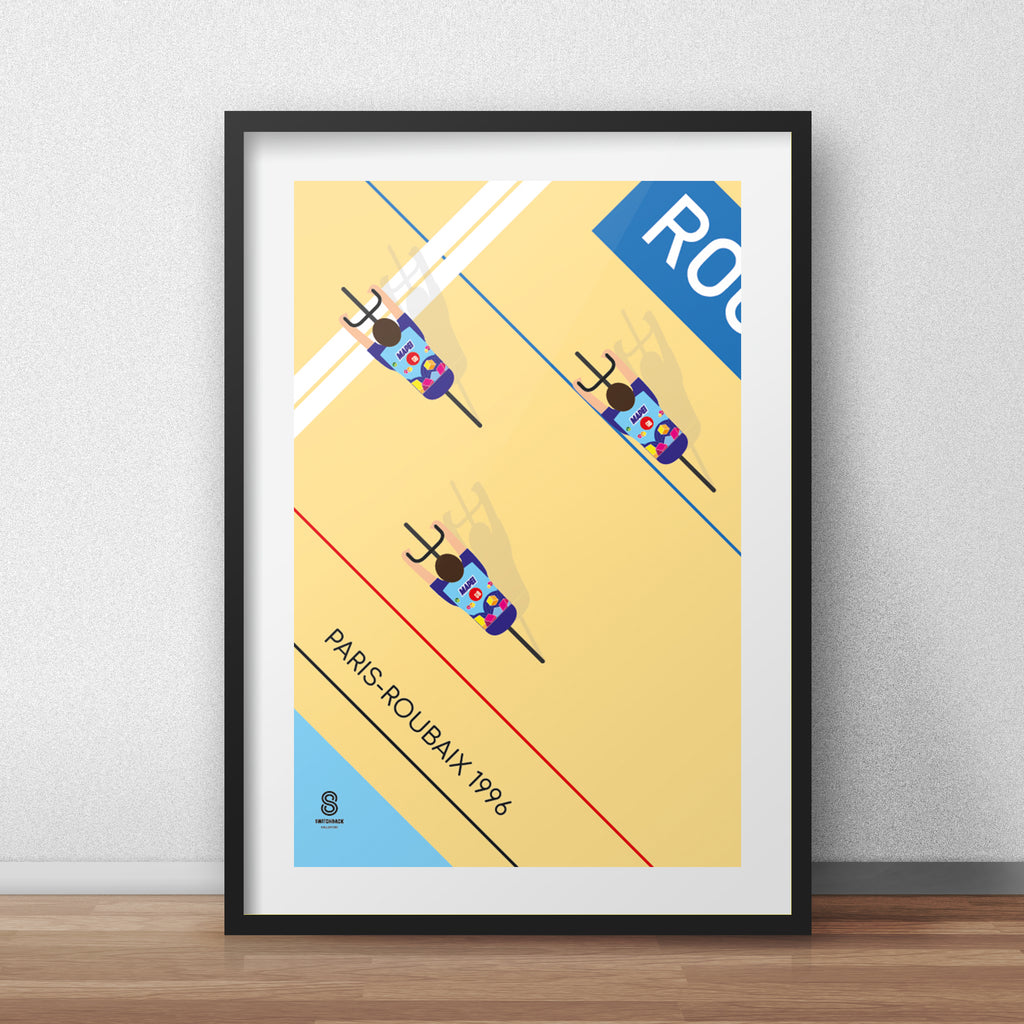 Paris Roubaix 1996 - Cycling Print