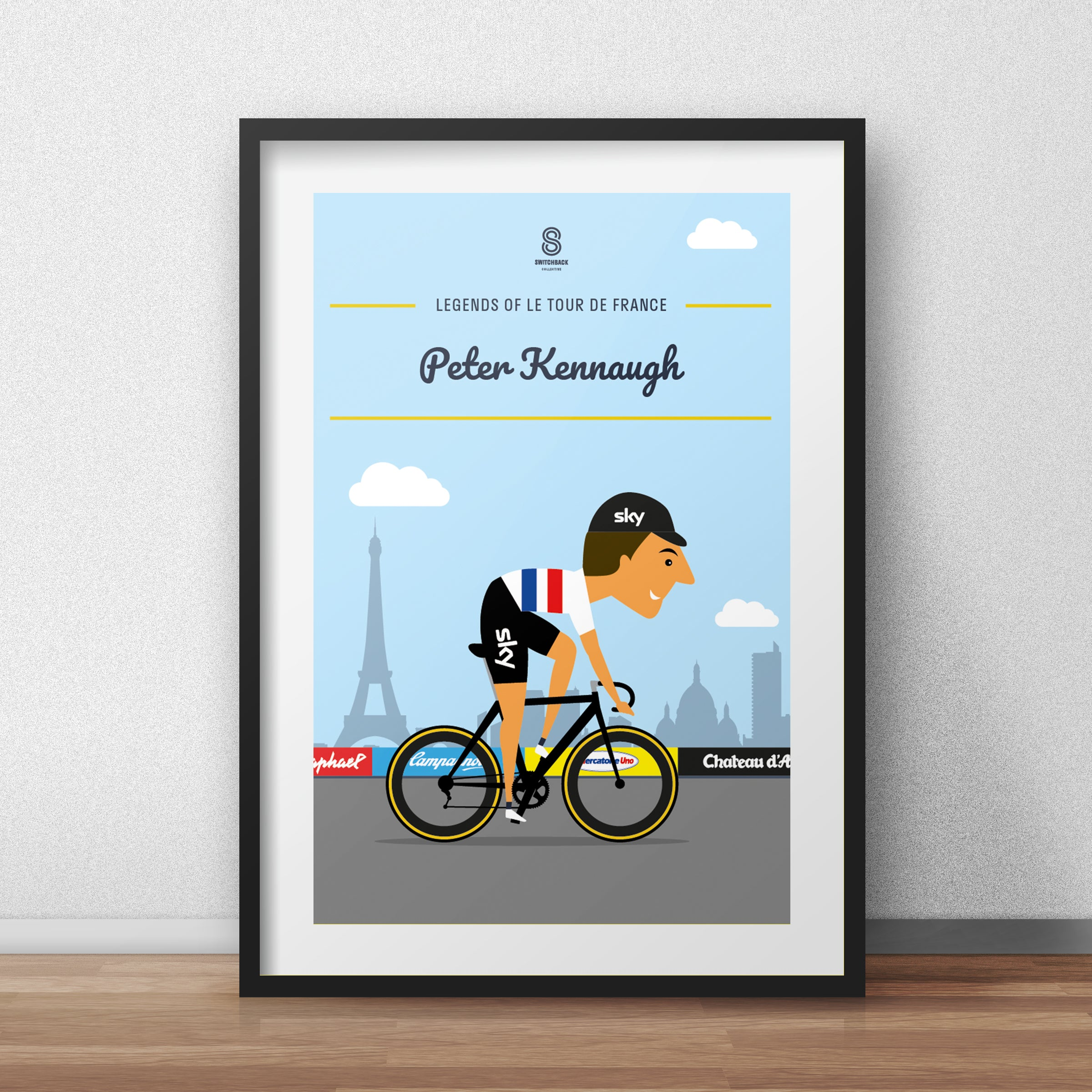 Peter Kennaugh  - Legends of Le Tour De France