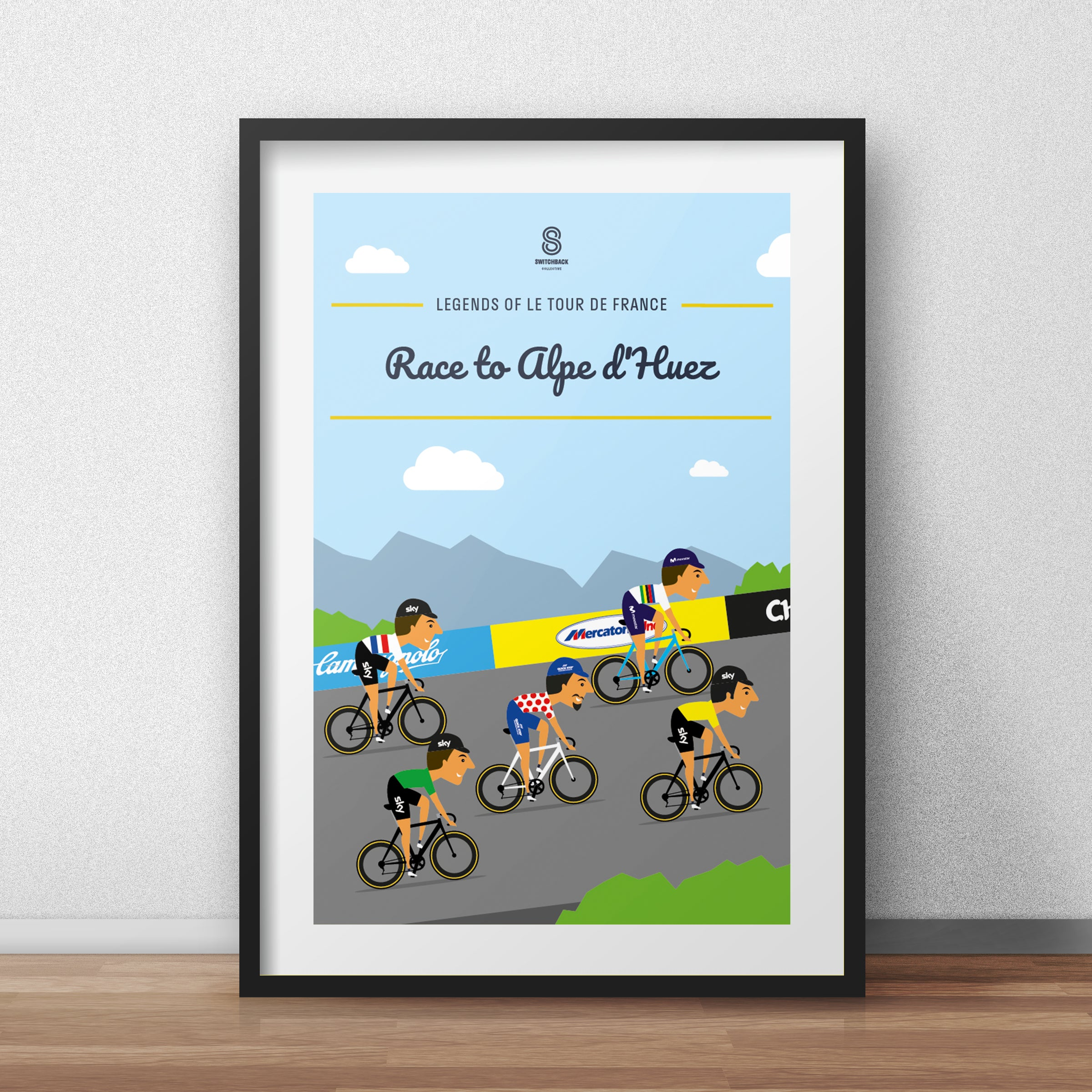Race to Alpe d'Huez - Le Tour De France