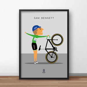 Sam Bennett 'The Dismount' - Quickstep Print