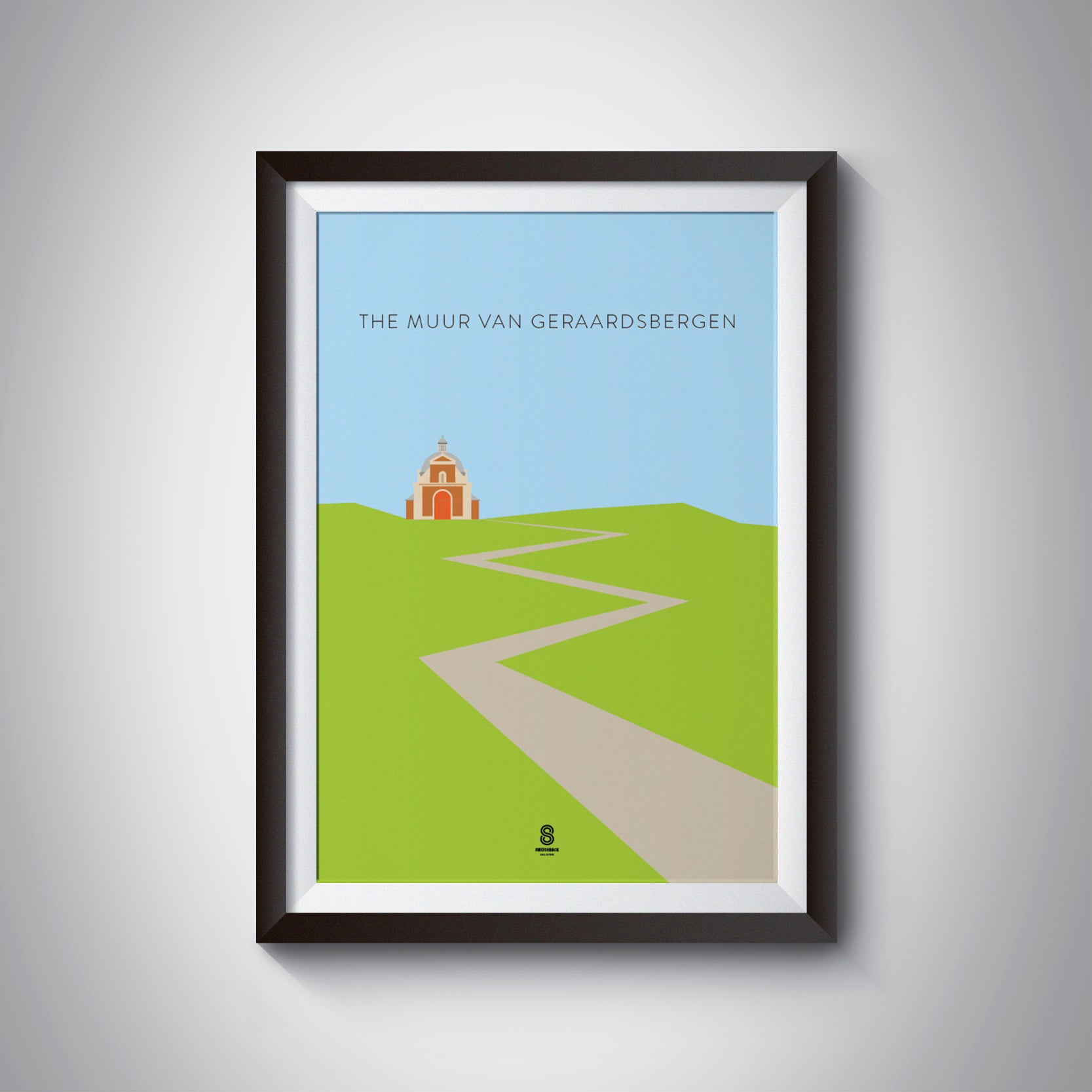 The Muur van Geraardsbergen - Cycling Print