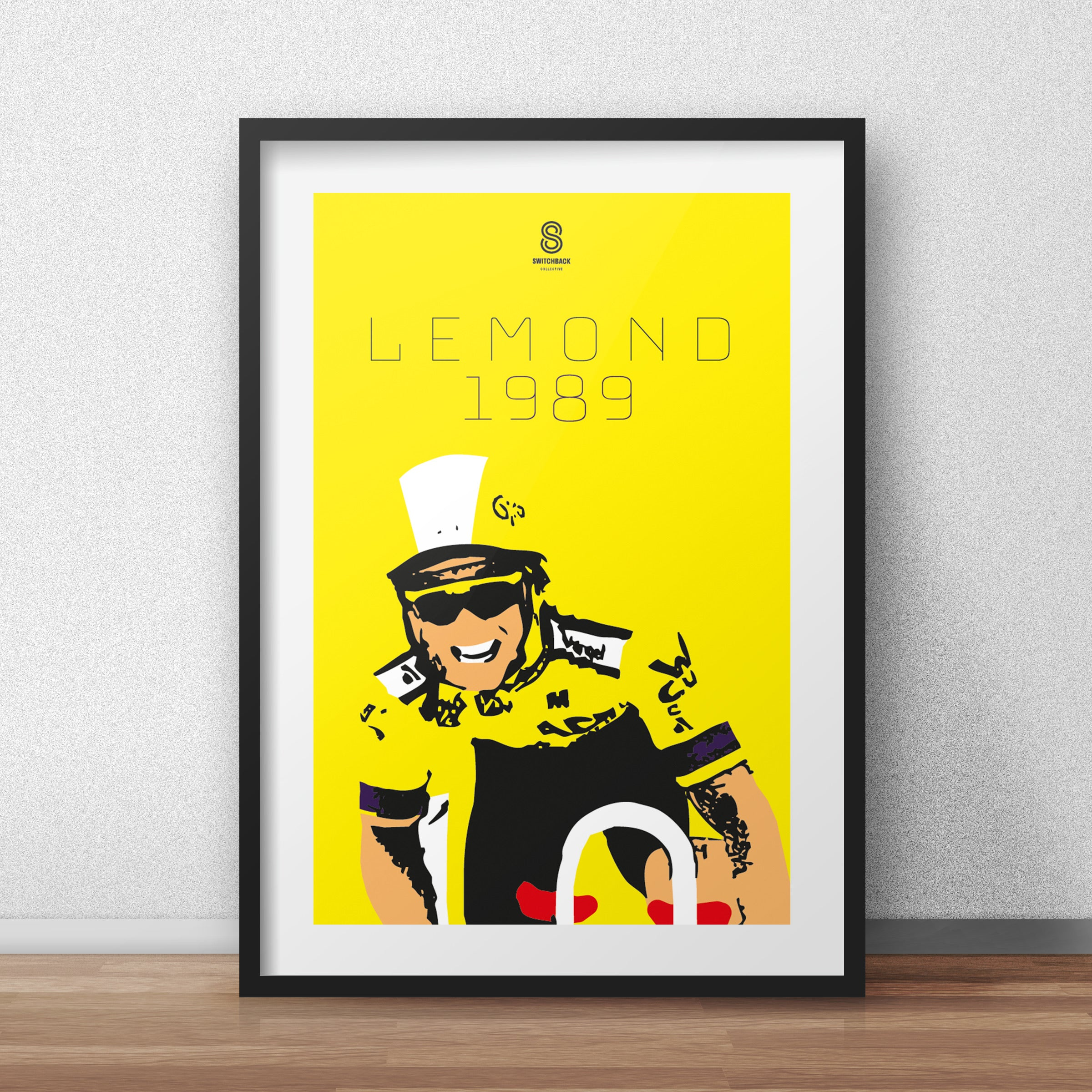 Greg Lemond Tour De France 1989 - Limited Edition Vintage cycling team print