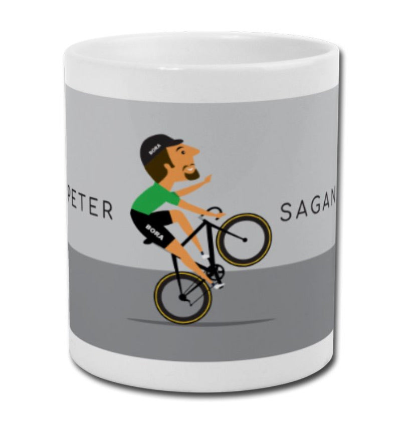 Peter Sagan 'The Wheelie' Mug