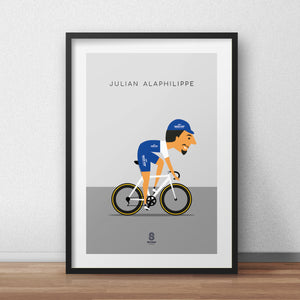 Julian Alaphilippe  - Quickstep Cycling Print