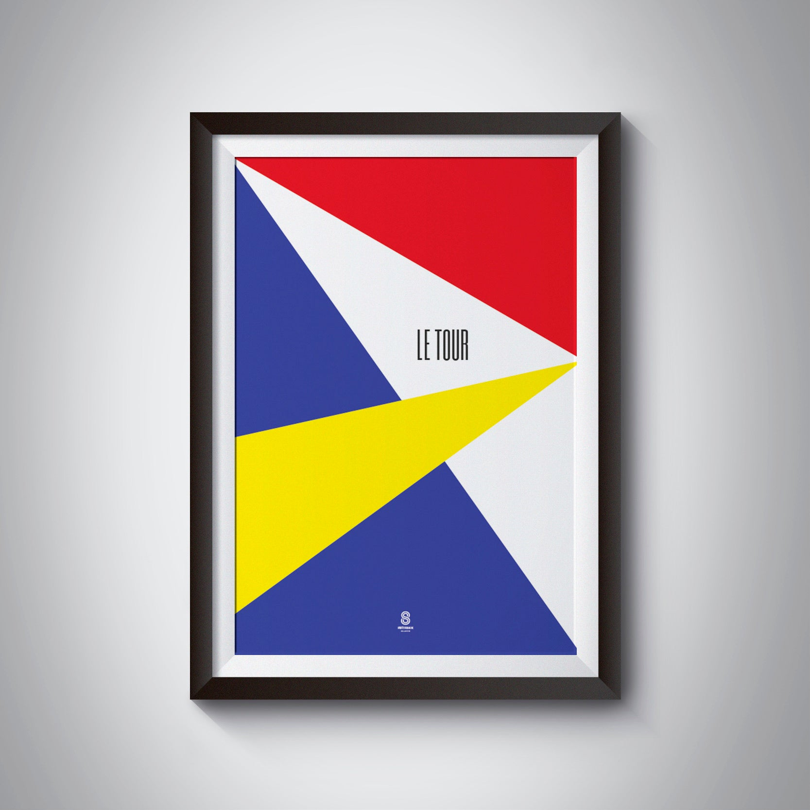 Tour De France - Abstract Print - Cycling Print