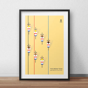 The Dream Team - Women's Team GB - Cycling Print