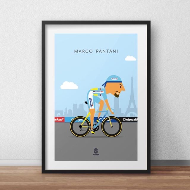 Marco Pantani - Legends of Le Tour De France