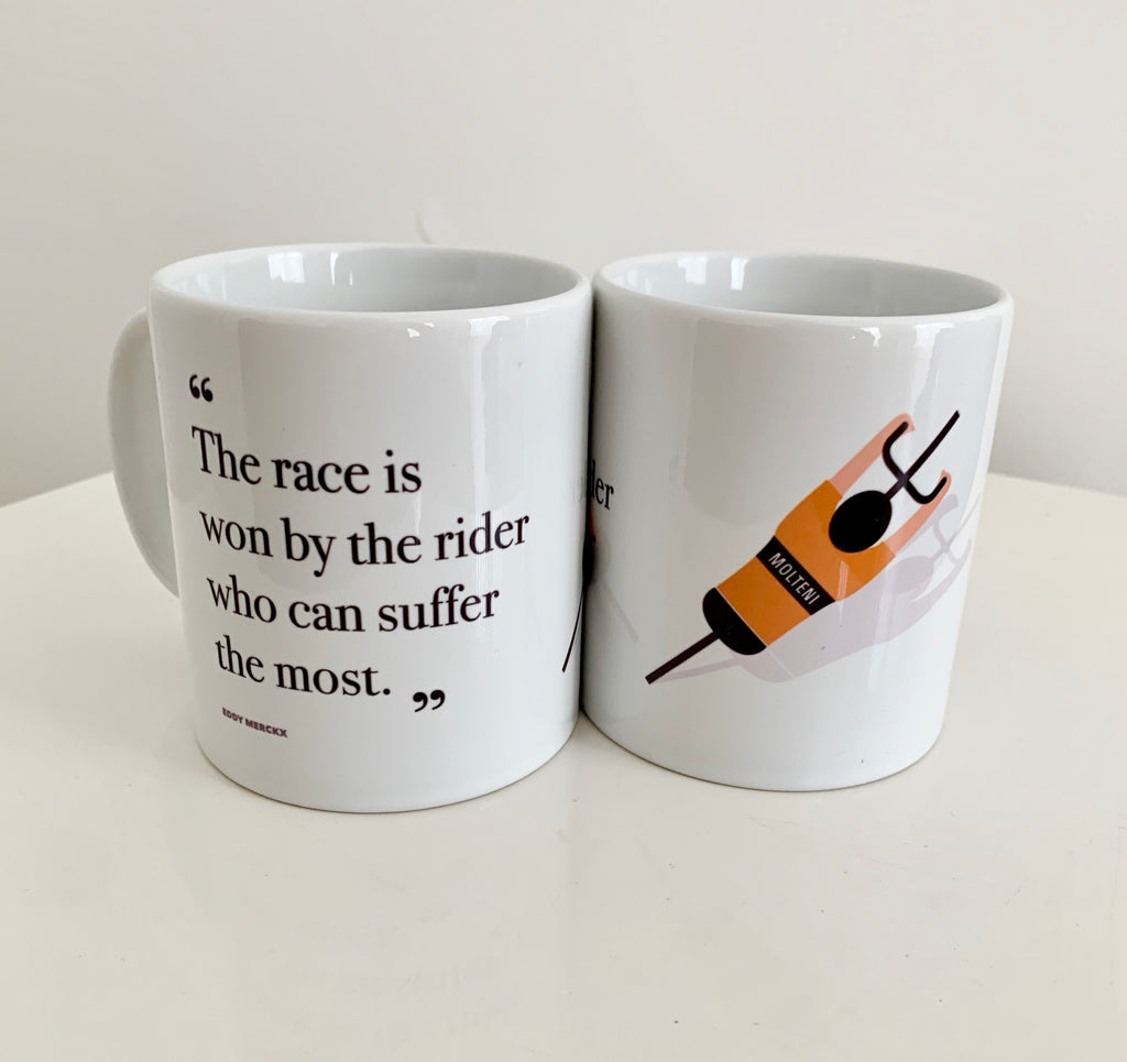 Eddy Merckx Quote - Mug