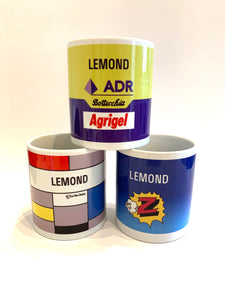 Greg LeMond Mug Set (Set of 3)