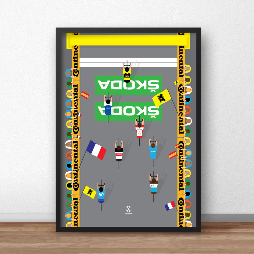 The Final Day - Tour De France Cycling Print