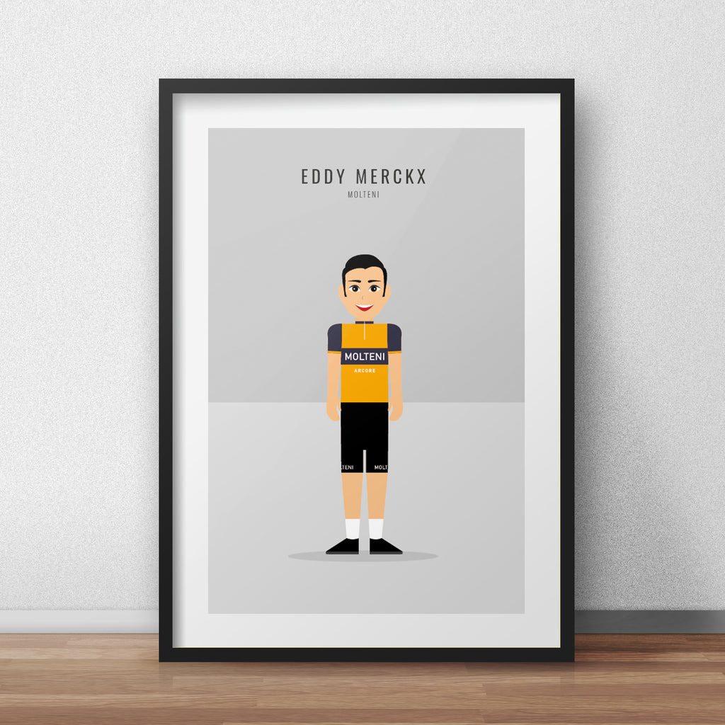Eddy Merckx Molteni - Cycling print