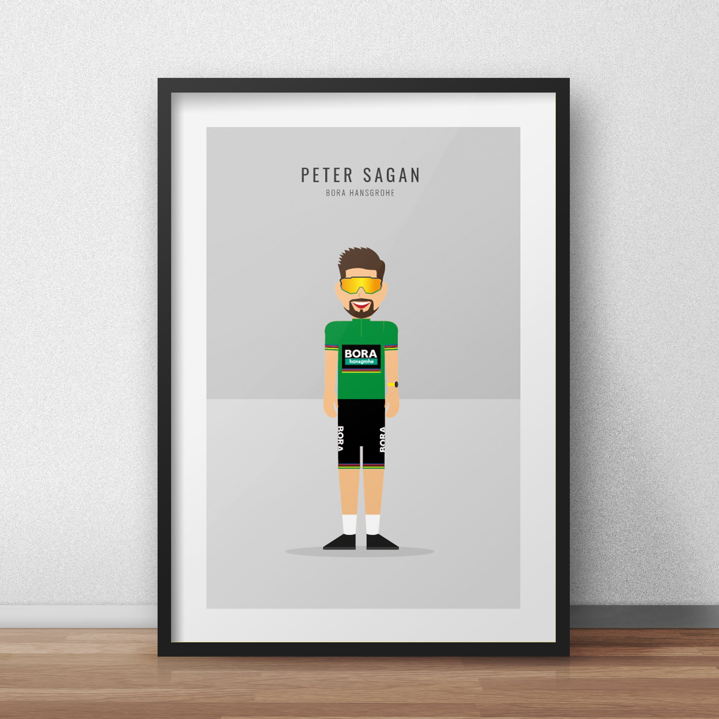 Peter Sagan Green Jersey - Cycling print