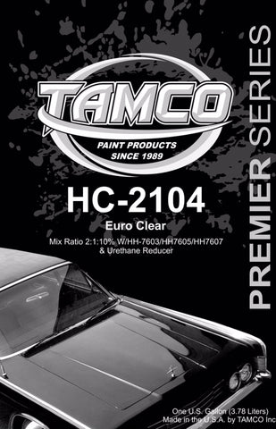 HC2104 High Solids Clearcoat