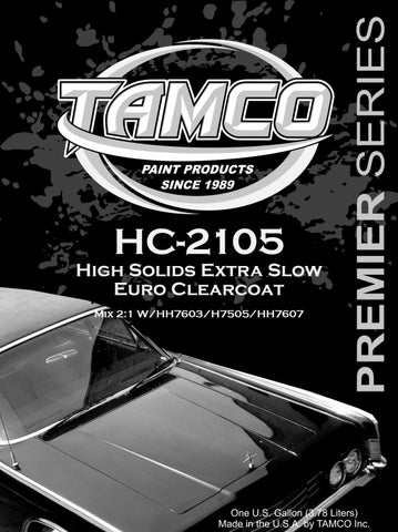 HC2105 Extra Slow High Solids Clearcoat