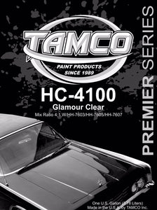 HC4100 Glamour 4:1 Clearcoat