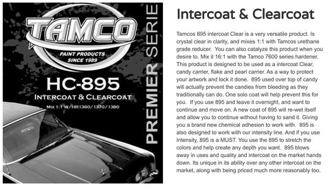 HC895 Intercoat & Clearcoat