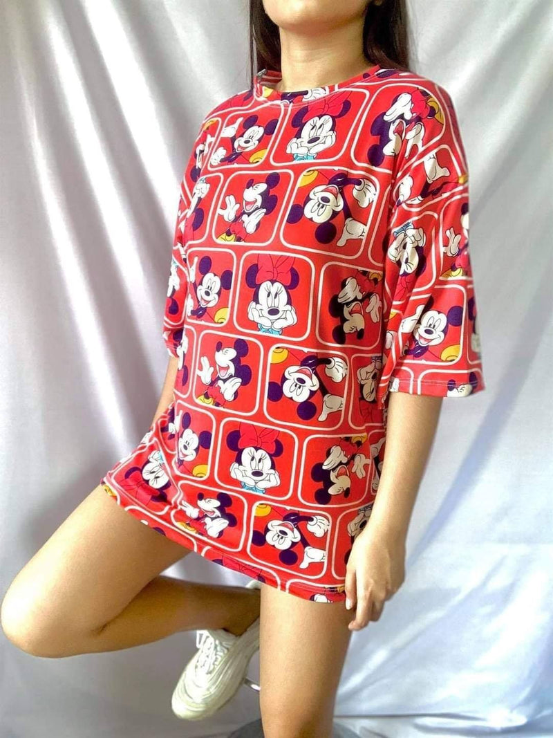 🌺 MICKEY MOUSE OVERSIZED 🌺