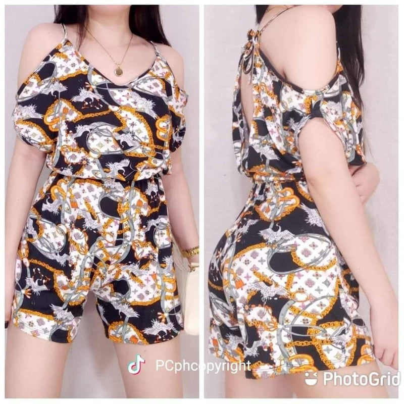 JESSICA PRINTED JUMPSHORT