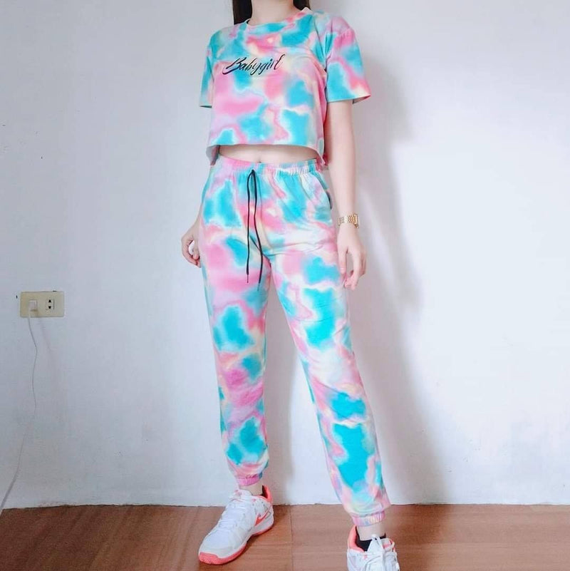 🌺 FASHION BABY GIRL JOGGER PANTS COOR 🌺