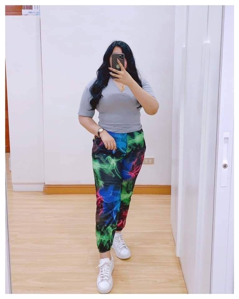 🌺FASHION GALAXY JOGGER PLUS SIZE 🌺