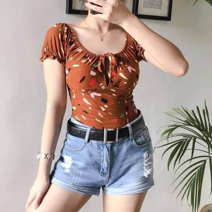 ❣️FASHION CASSIE TOP PRINTED
