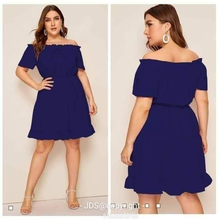 YNNA PLUSSIZE DRESS