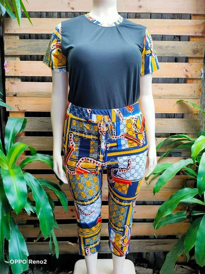 COMBI TERNO PANTS(PLUS SIZE)