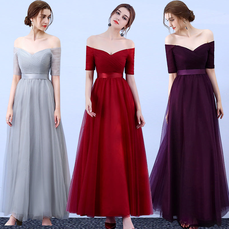 Long Dress for Wedding Party