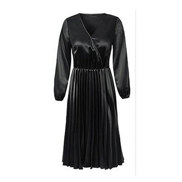 Women's Three Quarter Sleeve High Low Cocktail Party Dress