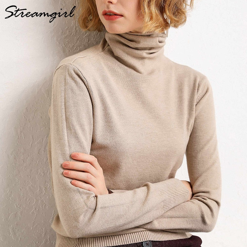 Women Wool Warm Jumpers